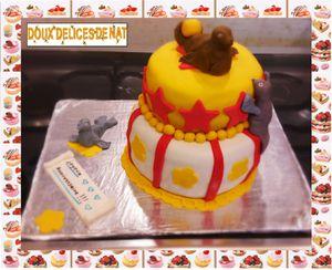 Gâteau otaries de cirque :