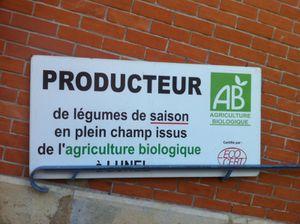 Le Mas des Saintes producteur de Lunel Bio .