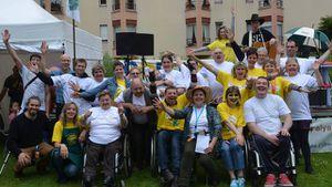 Fête du Sourire 2015  Association des Paralysés de France de l'Orne
