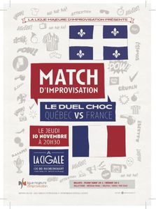 Match d'improvisation : Québec-France