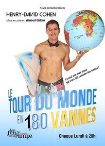 Henry-David Cohen  – « Le Tour du Monde en 180 Vannes »