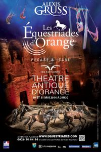 Alexis Gruss aux Equestriades d'Orange