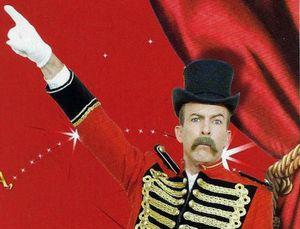 Profession régisseur de cirque