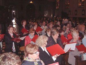 Le cors des Alpes fait vibrer la Messe &quot&#x3B;en sol&quot&#x3B; à St Martin