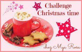 Et c'est reparti pour le challenge Christmas Time!