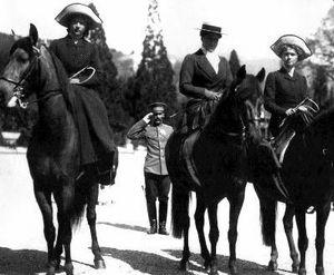 Amazone : Tsarine et grandes duchesses de Russie