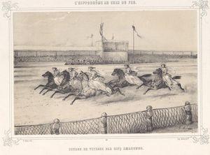 Amazones aux hippodromes de spectacles à Paris au XIX 1 : hippodromme de l'étoile