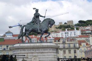 statue équestre lisbonne