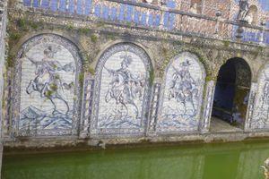 Chevaux au Portugal suite , azulejos