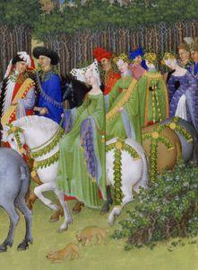 Cavalières au Moyen Age...