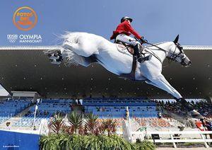 Mérédith Michaels Beerbaum, JO de Rio, 2ème tour #Rio2016 #TwoHearts #EquestrianJumping