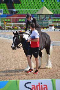 L'équitation en amazone aux JO