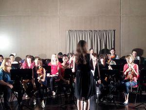Concert des terminales du Lycée Rosa Parks