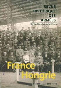 Revue historique des armées - France Hongrie - n°270