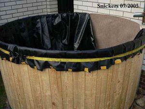 Misterbricolo fabrique son récupérateur d'eau de pluie en bois ...
