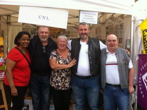 Avec les militants CNL (Fête de Saint-Denis)