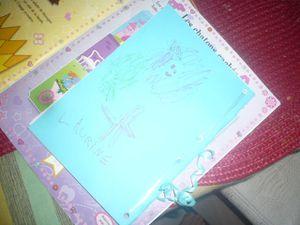 Cahier secret gratuit pour fille de 6 ans :