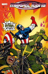 Marvel icons n°2 : Captain america, super patriote (Robert Krikman, Scott Eaton)