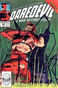 Daredevil n°262 (Ann Nocenti, John Romita Jr)