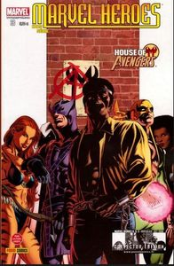 Marvel heroes, hors série n°3, house of M : Vengeurs (Chris N Cage, Mike Perkins)