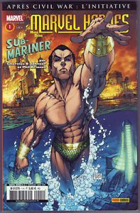 Marvel heroes hors série n°1, Submariner (Matt Cherniss,Peter Johnson, Phil Briones)