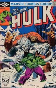 The incredible Hulk volume 1, n°272 (Bill Mantlo, Sal Buscema)