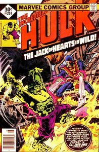 The incredible Hulk volume 1 n°214 (Len Wein, Sal Buscema)