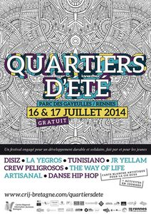 Festival Quartiers d'été 2014