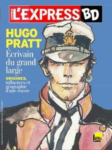 Hugo Pratt écrivain du Grand Large par l'Express BD.