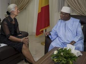 Reuters - IMF says Mali cash delayed over questionable jet purchase