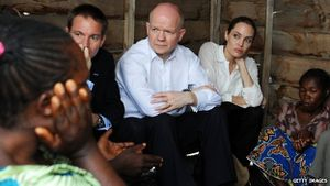 BBC - Sexual violence in war: Jolie opens summit in London