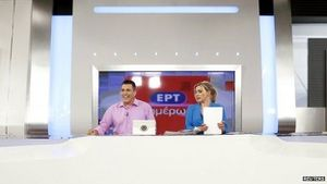 BBC - Greece's state broadcaster ERT back on air after two years