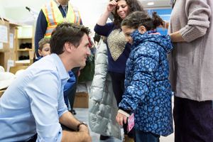 The Guardian - Trudeau greets Syrian refugees as Canada prepares for more arrivals