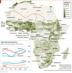 The Economist - African agriculture: A green evolution