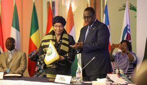 rfi - La présidente du Liberia Ellen Johnson Sirleaf nommée présidente de la Cédéao