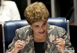 The Globe and Mail - In passionate Senate address, Rousseff condemns trial as threat to democracy