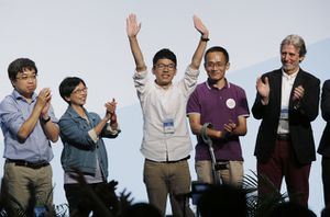 BBC - Hong Kong election: Youth protest leaders win LegCo seats