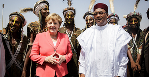 Reuters - Merkel says Africa to be priority for German G20 presidency