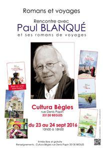 Paul Blanqué à Cultura Bègles