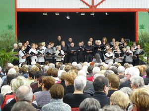 Aussillon chante + chorale Bloq'Notes