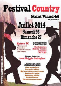 Festival Country ce week-end à Saint Viaud