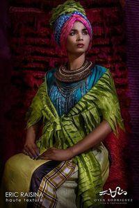 MODE : Exposition du styliste Eric Raisina à Dakar, 21-25 juin 2014