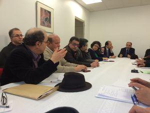 rencontre de M. l'Ambassadeur de Tunisie à Paris avec un collectif d'Associations et de personnalités tunisiennes