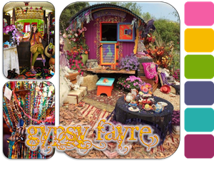 Gypsy Fayre chez Our creative Corner ...