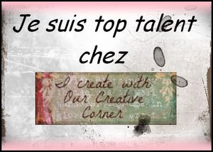 Invitée TOP talent....