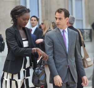 Joseph Zimet et sa femme Rama Yade, l'UMPS version couple