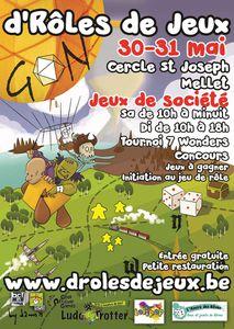 D'RÔLES DE JEUX 2ème éd. - Du 30 au 31/05 à La Guilde de l'Opale Noire (Mellet)