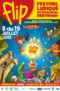 FLIP (Festival Ludique International Parthenay) 30ème éd. - Du 8 au 19/07 à Parthenay