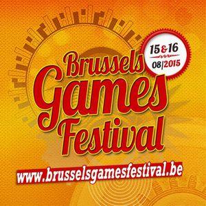 BRUSSELS GAMES FESTIVAL - 15-16/08 à Bruxelles