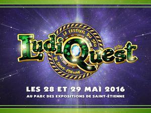 DEVENEZ BÉNÉVOLE POUR LUDIQUEST - Festival du Jeu de Saint-Étienne (28-29/05)